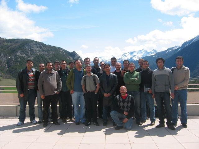 Planete seminar at Meolans-Revel, April 2008